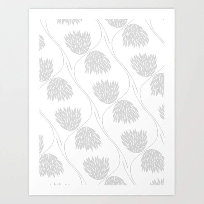 Floral No2 Art Print
