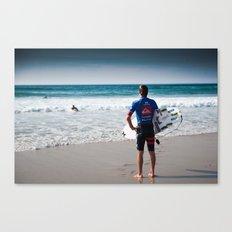 Pro Surfer Web Simpson Canvas Print