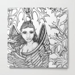Sketch Angel Metal Print
