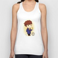 exo Tank Tops featuring Pathcode EXO - Chanyeol by Minnie Dreamer
