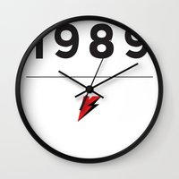 1989 Wall Clocks featuring My Story Series (1989) by Viral Status
