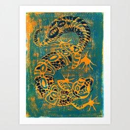 Leopard Gecko Art Print