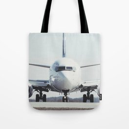 Taxiing to the Gate Tote Bag