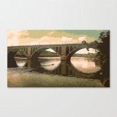 Georgetown Bridge Washington DC USA Canvas Print
