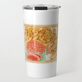 Japanese sea urchin roe bento | 海胆鱼子饭便当 Travel Mug