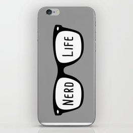 Nerd Life 4Ever iPhone Skin