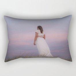 Sunset in the dunes Rectangular Pillow