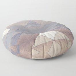 Pyramid Sun Fog Floor Pillow