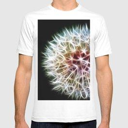 Fractal dandelion T-shirt