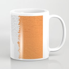 Extruded flag of Ireland Coffee Mug