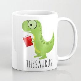Thesaurus Coffee Mug