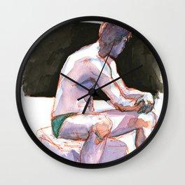 RYAN, Semi-Nude Male by Frank-Joseph Wall Clock