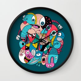 The 1765th One Wall Clock