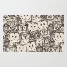 just owls natural Rug