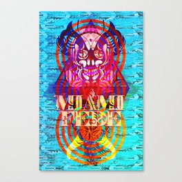 Miami Fede Canvas Print