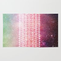 bohemian Area & Throw Rugs featuring Bohemian Highway by Jenndalyn