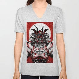 Samurai Artwork Unisex V-Neck