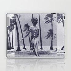 Tropical Storm in Purple Laptop & iPad Skin