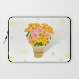 Bouquet of asters Laptop Sleeve