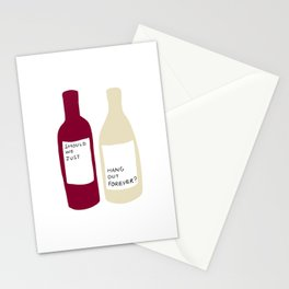 Love wine Stationery Cards