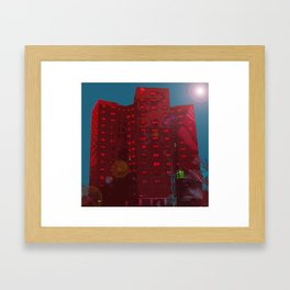 Sands Street Framed Art Print
