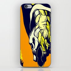 Hand that Takes iPhone & iPod Skin