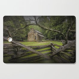 Oliver Log Cabin in Cade's Cove Cutting Board