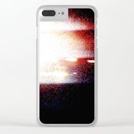 UNTITLED #67 Clear iPhone Case