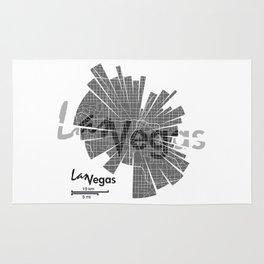 Las Vegas Map Rug