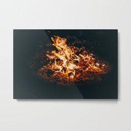 Fire art Metal Print