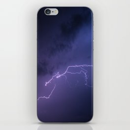 Volt out of the blue iPhone Skin