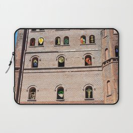 Crazy Industrial Arthouse Vernissage Laptop Sleeve