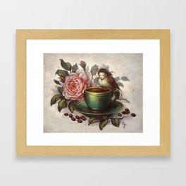 Fragrance Framed Art Print