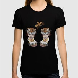 Tiger Mask - modern shamanism art T-shirt