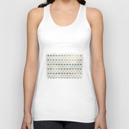Triangles Unisex Tank Top