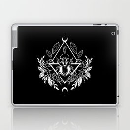 Scarab Queen // B&W 02 Laptop & iPad Skin