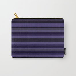 Gothic purple stripes Carry-All Pouch