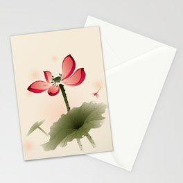 Oriental Lotus 001 Stationery Cards