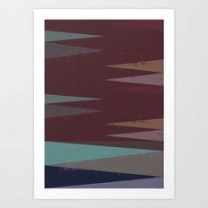 Patternwork XXXX Art Print