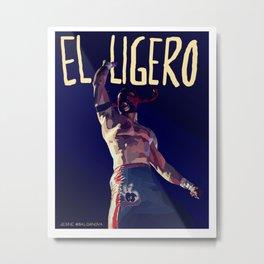 Ligero Metal Print