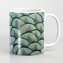 Beautiful Elegant Peacock Feathers Coffee Mug
