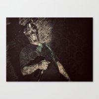 mf doom Canvas Prints featuring MF Doom by Ferdinand Bardamu