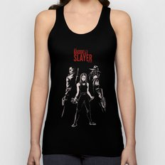 The Baddest Slayer Alive Unisex Tank Top