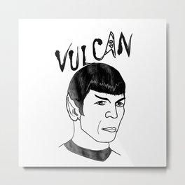 Mister Spock Metal Print