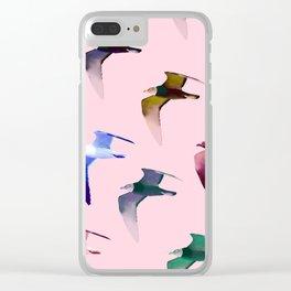 Pigeon Season Clear iPhone Case