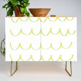 Citron Green Waves Credenza