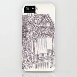 BALLEPN TRAVEL IN LAOS 7 iPhone Case