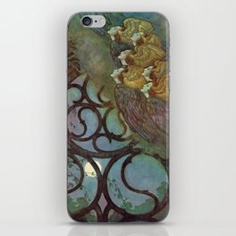 """""""The Bells"""" Fairy Tale Art by Edmund Dulac iPhone Skin"""