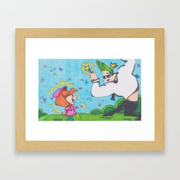 Fairy Magic Framed Art Print