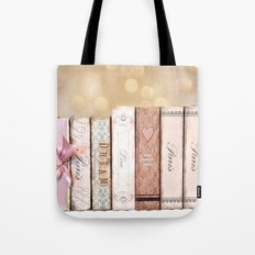 Paris Dream Love Books Print Tote Bag